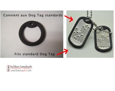 Réducteur de bruit pour Dog Tag